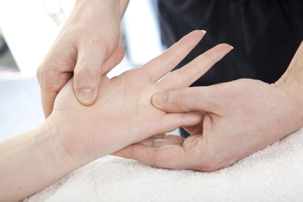 masajes para la artritis